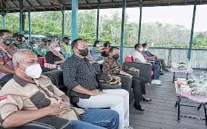 Wakil Bupati Barito Timur Hadiri Perayaan HUT ke 2 Wisata Dam Turan Amis