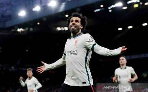Liverpool Gulung Manchester United 5 - 0