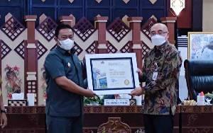 Pemprov Kalteng Terima BKN Award 2021