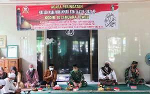 Kodim Muara Teweh Peringati Maulid Nabi Muhammad SAW, Ini Harapan Dandim