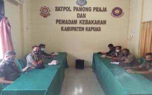 Satpol PP dan Damkar Kapuas Sosialisasikan Penyusunan DUPAK Jabatan Fungsional
