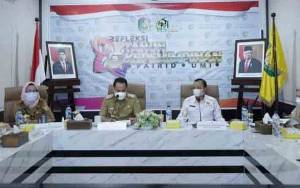 Wali Kota Palangka Raya Ikuti Interview Evaluasi PPID