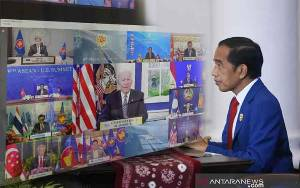Presiden Jokowi Sampaikan Tiga Harapan dalam Hubungan ASEAN-AS