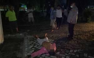 Tukang Parkir Ditemukan Tewas Dekat Pos Polisi Taman Kota Sampit