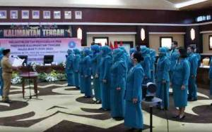 Hj Sri Hidayati Nadalsyah Kembali Dilantik Sebagai Ketua TP-PKK Kabupaten Barito Utara